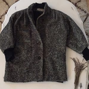 Vintage Michelle Stuart Wool Oversized Peacoat